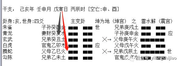 六爻断卦动静爻生克顺序详解,六爻动静爻断法思路,六爻动静生克卦例分享